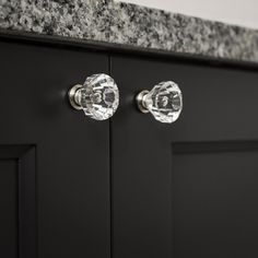 Dress up your drawers with Hickory Hardware® Crystal Palace Knobs. As each knob bends and reflects light, they will instantly brighten up your room décor. Kitchen Cabinet Hardware, Cabinet Decor, Cabinet Knobs, Hickory Hardware, Crystal Palace, Door Handles, Room Decor, Interior Doors, Crystals