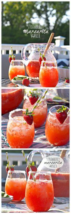 Strawberry Margarita Punch!