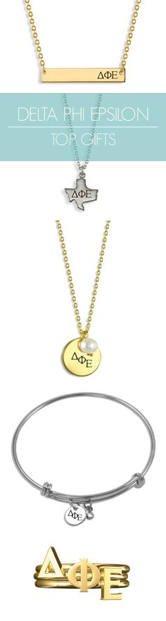 Top Delta Phi Epsilon Gifts for you and your sisters! This season\'s must-haves for all things DPhiE // #sorority www.alistgreek.com