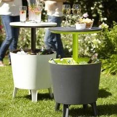 Mesa para bebidas refrescantes