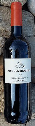12. Juli 2016 - Mas des Brousses: Terrasses du Larzac 2013, Puéchabon, Languedoc, Frankreich --     Ein heisser Tag am Strand – Strandferien. Ich geniesse den etwas kühleren Abend auf dem Balkon. Kein grosses «Geköch», grüner Salat, ein Stück Fleisch vom Grill und dann, wenn mir noch darnach zumute ist, ein Coupe Colonel. Vor mir liegt die Regonalzeitung: «Midi Libre». Ich lese etwas gelangweilt die Schlagzeilen. Natürlich «Les Bleu» - «Allez!».