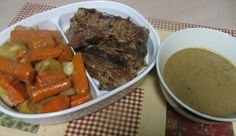 Mommy's Kitchen - Country Cooking & Family Friendly Recipes: No Fail Beef Pot Roast {Makes it's own Gravy}