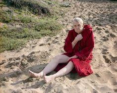 Katy Grannan Edward (with Prayer Beads), Baker Beach, 2006 California/ The Westerns