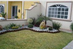 One of the most used decorative elements in the garden design . Garden Edging, Garden Borders, Garden Pool, Front Gardens, Outdoor Gardens, Outdoor Landscaping, Front Yard Landscaping, Landscaping Ideas, Dream Garden