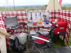 camping hook up equipment