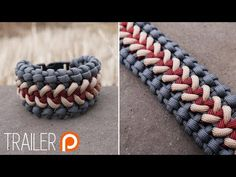 Paracord Bracelet Designs, Paracord Projects, Paracord Bracelets, Paracord Tutorial, Paracord Knots, Bracelet Tutorial, Diy And Crafts, Crafts For Kids, Cut The Ropes