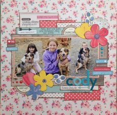 I did this layout for case #173 challenge on csicolorstoriesinspiration.ning.com/