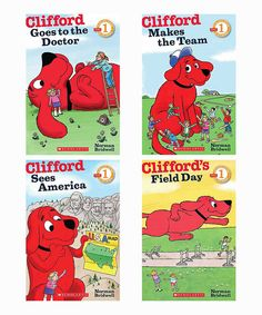 Look at this Clifford Reader Paperback Set on #zulily today!