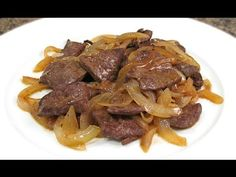 Liver with onion steak Puerto Rican Recipes, Cuban Recipes, My Recipes, Dinner Recipes, Cooking Recipes, Healthy Recipes, Bistec Recipe, Liver And Onions, Dinner Today