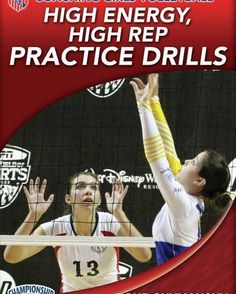 This is a high energy, high repetition volleyball warm-up drill that requires players to communicate and concentrate while moving quickly