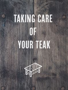 How to Remove Watermarks From Teak taking care of your teak furniture image