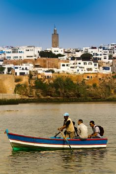 Crossing the River in Kasbah des Oudaïas, Rabat, Rabat-Sale-Zemmour-Zaer_ Morocco