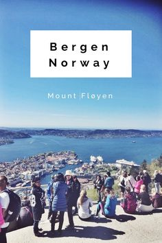 Mount Fløyen located in Bergen, Norway. Visit Norway! --> Magical view and nice hiking opportunities!