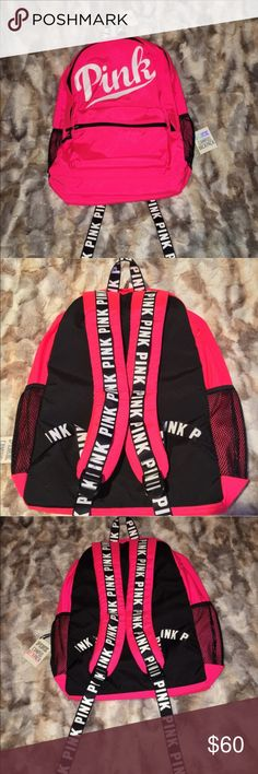 NWT VS PINK CAMPUS BACKPACK  Brand new with tags. PINK Victoria's Secret Bags Backpacks