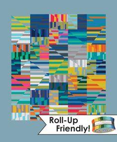 """Carolyn Friedlander: Aerial quilt-2.5"""" strips friendly"""