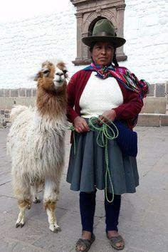 Andean people in Peru.