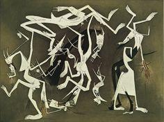 Wifredo Lam, 'Second Adventivity' 1969 Contemporary Artists, Modern Art, 20th Century Painters, Afrique Art, Cuban Art, African Traditions, Francisco Goya, Caribbean Art, Art Premier