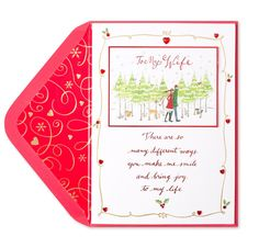 Holiday Couple (For Wife) Price $5.95