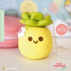 Jolie petits ananas kawaii qui fait pensais au soleil et a l'été !