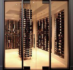 Urban Condo Wine Cellar