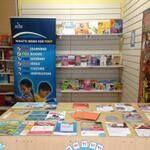 Halton Libraries at Widnes market LYLM 2014 Fans