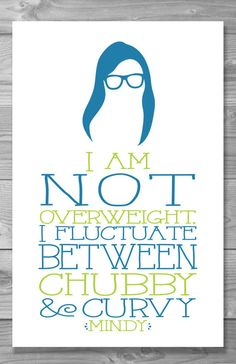 Mindy Project Quote Posters | Community Post: 20 Adorable Etsy Items All Mindy Kaling Fans Need In Their Lives