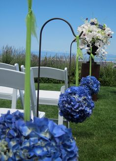 cobalt and ivory wedding ideas - Google Search