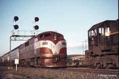 112819: Wallan Loop Up Intercapital Daylight GM 31 Down Spirit of Progress X 38 X 31. 31 January 1974.