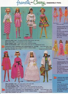 Always selling quality Vintage Francie!! smitti257@aol.com
