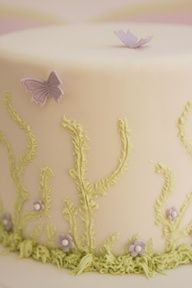 """Butterfly cake"""" gorgeous <3"""