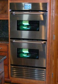 Timio Professional Series Intelligent Oven with Refrigeration System that allows you to both refrigerate and then cook your meal using your cell phone so that dinner's ready when you get home