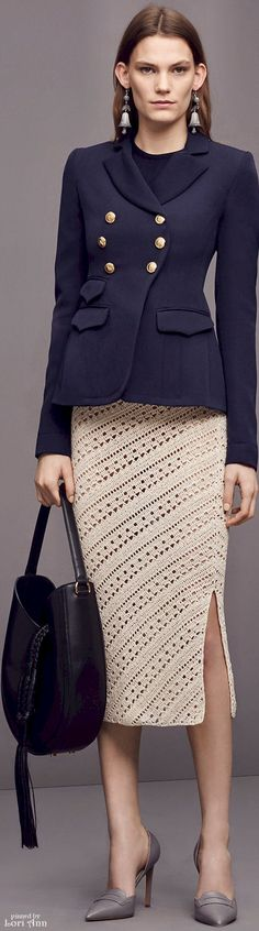 Altuzarra Pre-Fall 2016 women fashion outfit clothing style apparel @roressclothes closet ideas