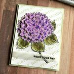 Check out the stunning card Jana created with our new Large Hydrangea stamp and coordinating dies! 💜 #Repost from @janamillen<br/>・・・<br/>I'm happy to be part of the @heroarts blog hop celebrating the release of the 2017 catalog products in the @heroarts store. Check out this layered, dimensional hydrangea. There is a link to my blog and to the other designers in my profile. #heroarts