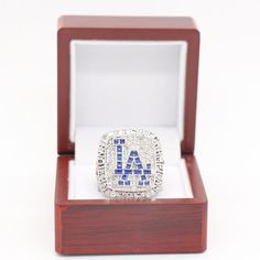 New 2017 LOS ANGELES THE DODGERS rings Baseball Replica Word Championship Ring  #QualityRingsFromRingFactory #LosAngelesDodgers