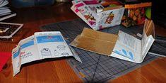 Villmarkshjerte: Hvordan lage en melkekartong-lommebok!!! Paper Shopping Bag, Tableware, Crafts, Home Decor, Dinnerware, Room Decor, Tablewares, Crafting, Handmade Crafts