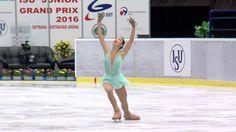 2016 ISU Junior Grand Prix - Ostrava - Ladies Short Program Yuna AOKI JPN