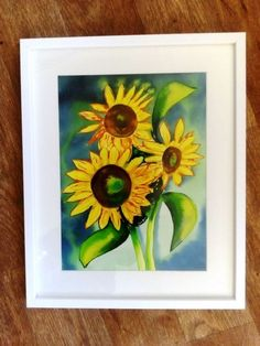Buy Shine Like Sunflowers, Mixed Media painting by Sally Scott on Artfinder. Discover thousands of other original paintings, prints, sculptures and photography from independent artists.