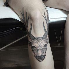 Buck tattoo