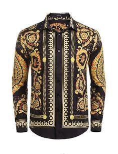ONTBYB Men Work Wear Tribal Print Dress Blazer Coats African Print 1 Button Suit Coat