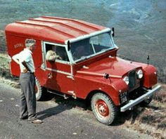 Land Rover Series One 86 hard top.