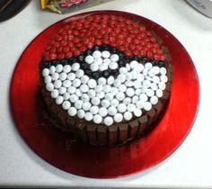 Pokemon cake idea for Ethan Festa Pokemon Go, Pokemon Party, Pokemon Cakes, Cupcakes, Cupcake Cakes, 6th Birthday Parties, Birthday Fun, Cake Birthday, Pokemon Birthday Cake