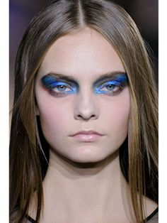 Fall 2012 Beauty Trends - Hair and Makeup Trends for Fall 2012 - Marie Claire