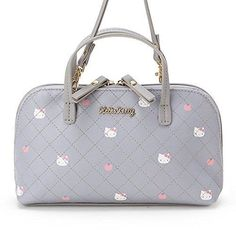 SANRIO Hello Kitty Mini Shoulder Bag with Wallet Function (Gray) from Japan 7039fe99dc295