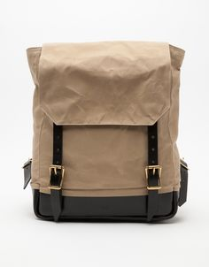 Waxed Canvas Rucksack | Southern Field Industries