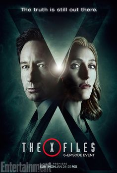 The X-Files: Mulder, Scully feature in exclusive new key art | EW.com