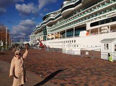 les navires en visite au Vieux Port