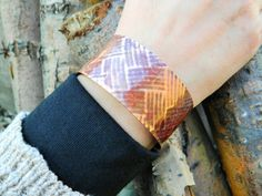 Copper Cuff Copper Bracelet Copper Cuff Bracelet by SawItBoughtIt