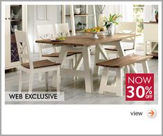 Coniston Two Tone Dining Range BHS