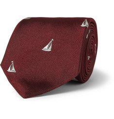 Paul Smith Shoes & AccessoriesEmbroidered Silk Tie