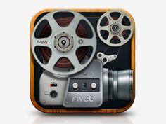 Fivee icon app ver. 01 by Fernando Alcazar
